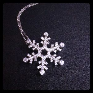 .925 Snowflake Necklace